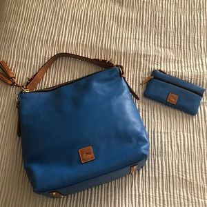 Dooney & Bourke McKenzie Hobo Bag &matching wallet